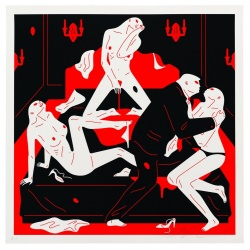 Litho.Online Cleon Peterson - Pisser II