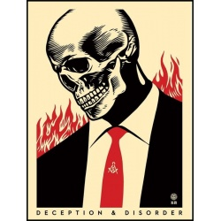 Litho.Online Shepard Fairey - Deception & disorder