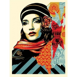 Shepard Fairey - Fire sale