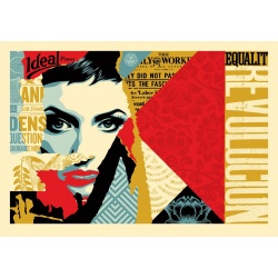 Litho.Online Shepard Fairey - Ideal Power (Grand Format)