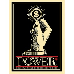 Litho.Online Shepard Fairey - Power Bidder