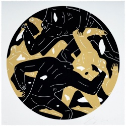 Litho.Online Cleon Peterson - Out of darkness II (Black)