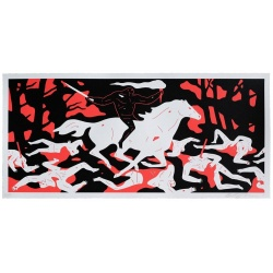 Litho.Online Cleon Peterson - Victory Red