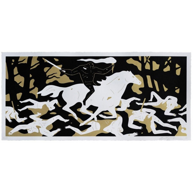 Litho.Online Cleon Peterson - Victory Gold
