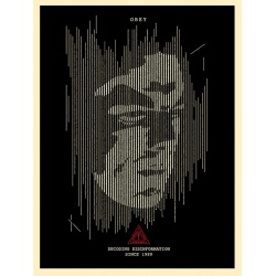 Litho.Online Shepard Fairey - Decoding Desinformation (Black)