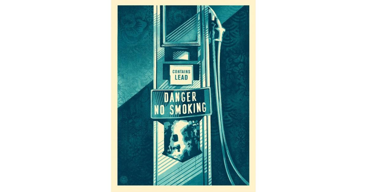 Litho.Online Shepard Fairey - Danger no smoking