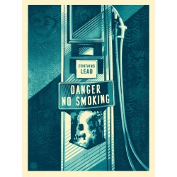 Litho.Online Shepard Fairey - Danger no smoking