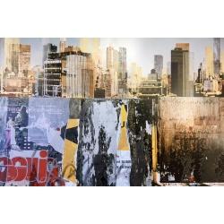 Gottfried Salzmann - Deep Throat - Gravure et collage sur photo signée et numérotée 18/49 exemplaires - 50x75cm - 2010