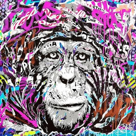 Litho.Online Jo Di Bona - Print Splash Magic Monkey