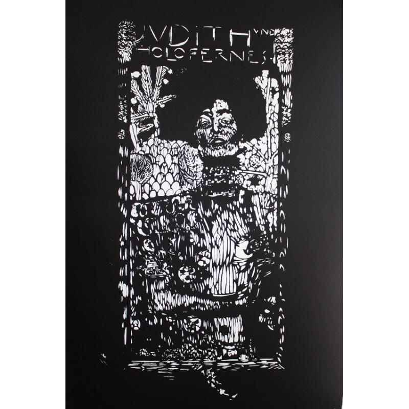 Artiste Ouvrier - Judith - Lithographie 92x65cm - Rives BFK 270g - 2015