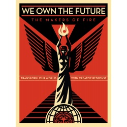 Litho.Online Shepard Fairey - We own the future