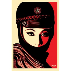 Litho.Online Shepard Fairey - Mujer Fatal