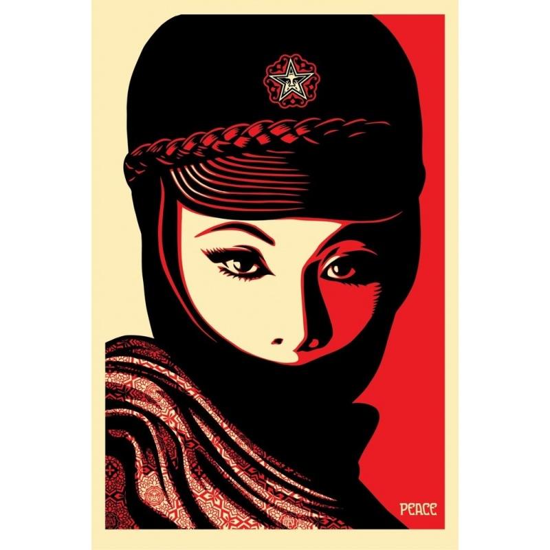 Litho.Online Shepard Fairey - Mujer Fatal