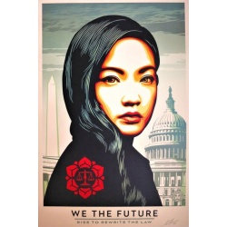 Litho.Online Shepard Fairey - We the future/ Rise to rewrite the low
