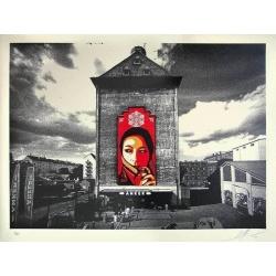 Litho.Online Shepard Fairey - Commanda mural