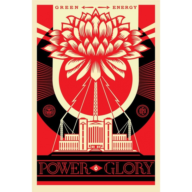 Litho.Online Shepard Fairey - Green Power