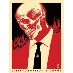 Litho.Online Shepard Fairey - Disinformation & Chaos