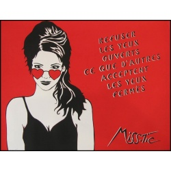 Litho.Online Miss Tic - Refuser les yeux ouverts...