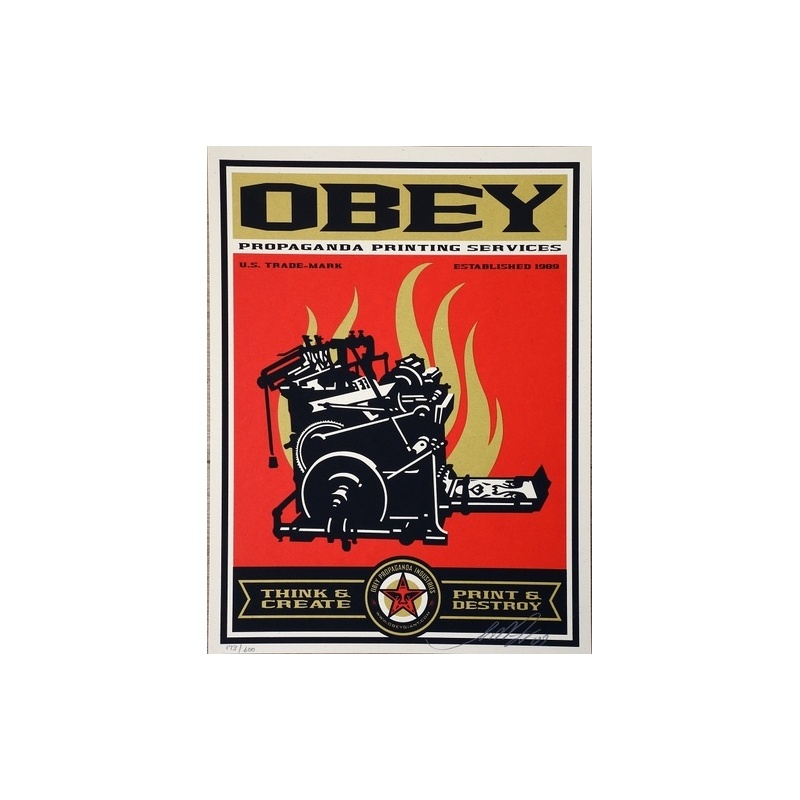 Litho.Online Shepard Fairey - Propaganda printing service