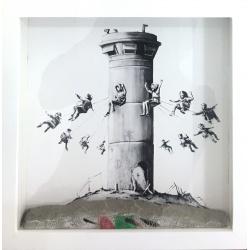 Litho.Online Banksy - Walled off Hotel print n°2125