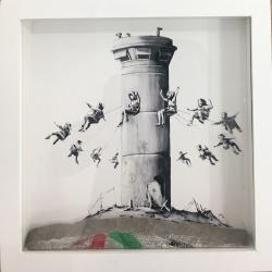 Litho.Online Banksy - Walled off Hotel print n°2128