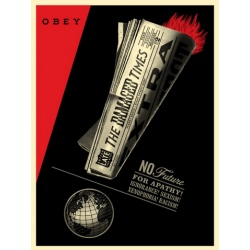 Litho.Online Shepard Fairey - Damaged Times