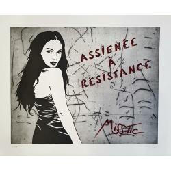 Litho.Online Miss Tic - Assignée à résistance
