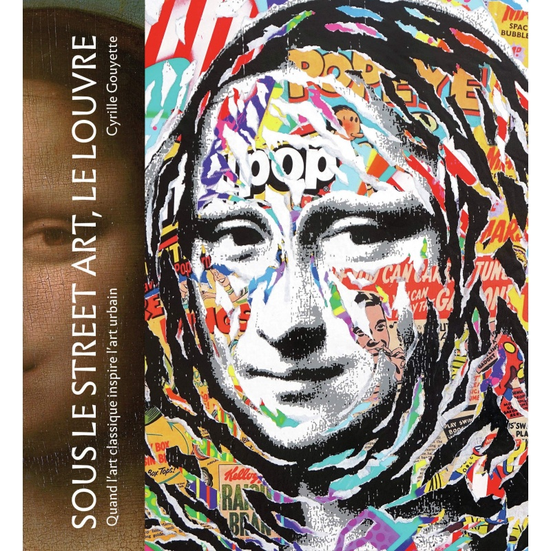 Litho.Online Sous le Street Art, Le Louvre - Livre 204 pages