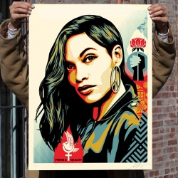 Litho.Online Shepard Fairey - Power & Equality (Dove)