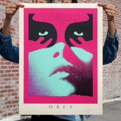 Litho.Online Shepard Fairey - Shadowplay Blue