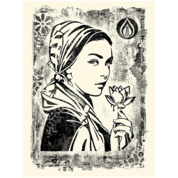 Litho.Online Shepard Fairey - Damaged Stencil Natural Springs