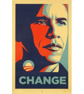 Shepard Fairey - Obama...