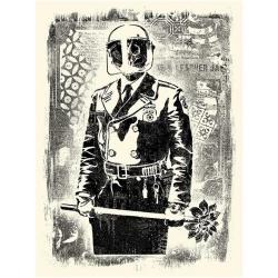 Litho.Online Shepard Fairey - Damaged Stencil Florist