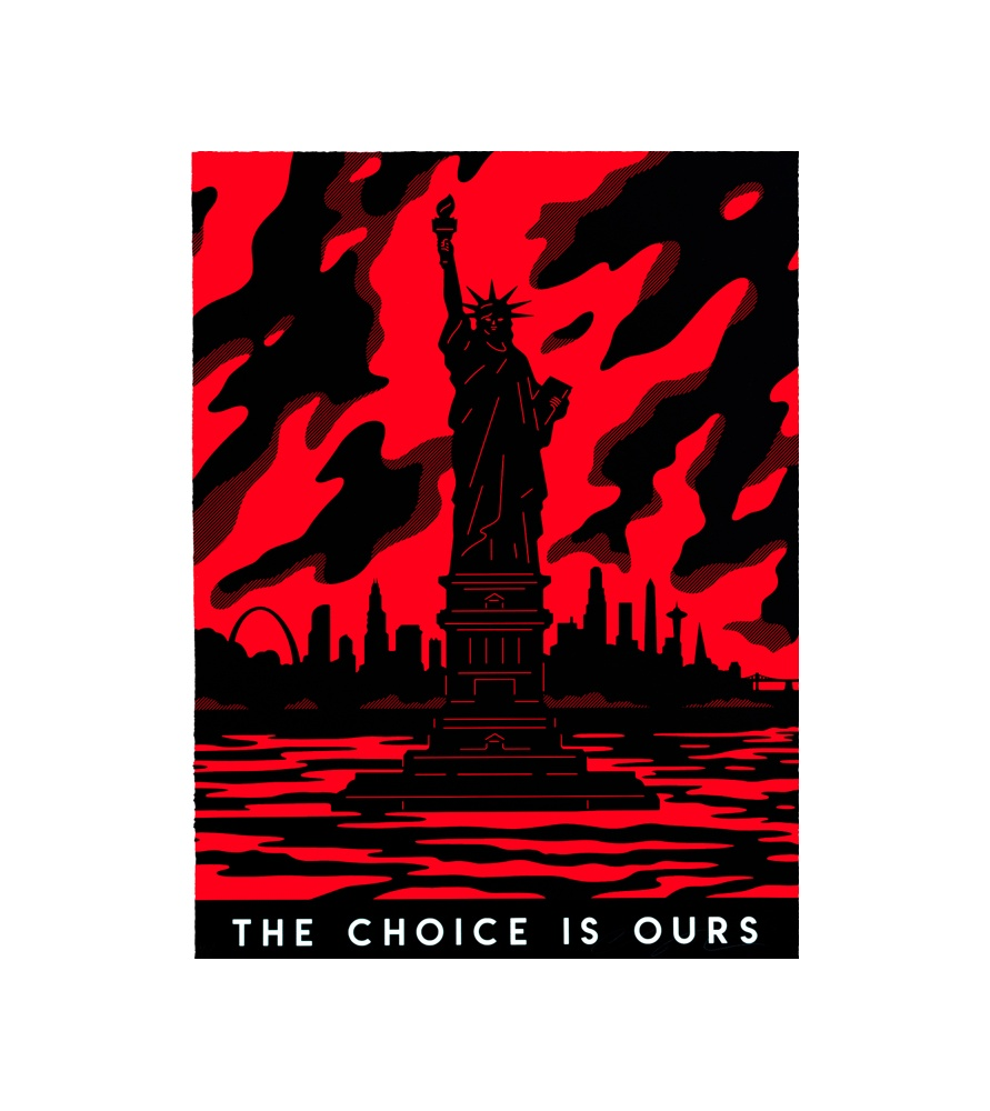 Litho.Online Cleon Peterson - The Choice is Ours