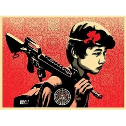 Litho.Online Shepard Fairey - Duality of Humanity 2