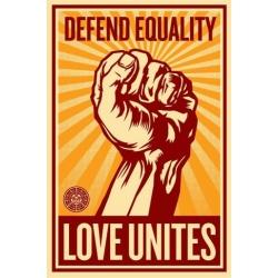 Litho.Online Shepard Fairey - Love Unites