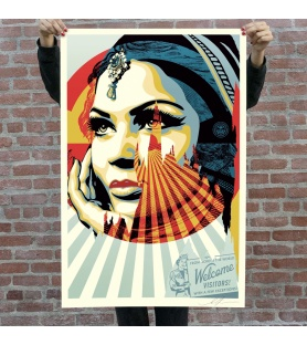 Litho.Online Shepard Fairey - Target Exceptions