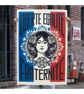 Shepard Fairey - Liberté -...