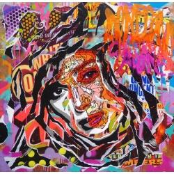 Jo di Bona - Under Your Skin - Estampe signée et numérotée en 33ex - 50x50cm - 2018