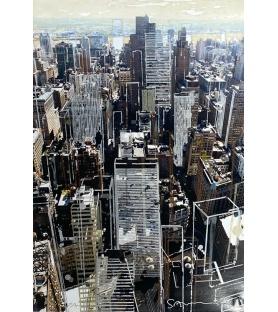 Litho.Online Gottfried Salzmann - NY city