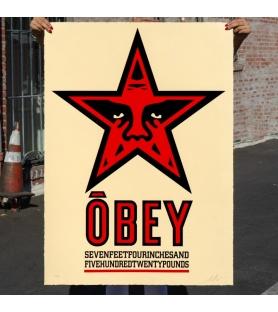 Litho.Online Shepard Fairey - Obey Star (grand format)