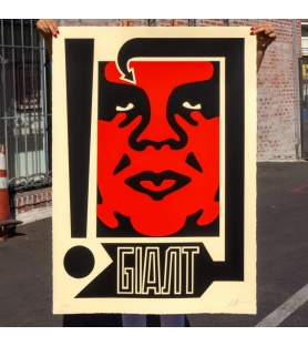 Litho.Online Shepard Fairey - Exclamation (grand format)