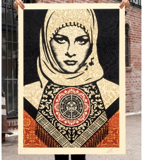 Shepard Fairey - Arab Women...