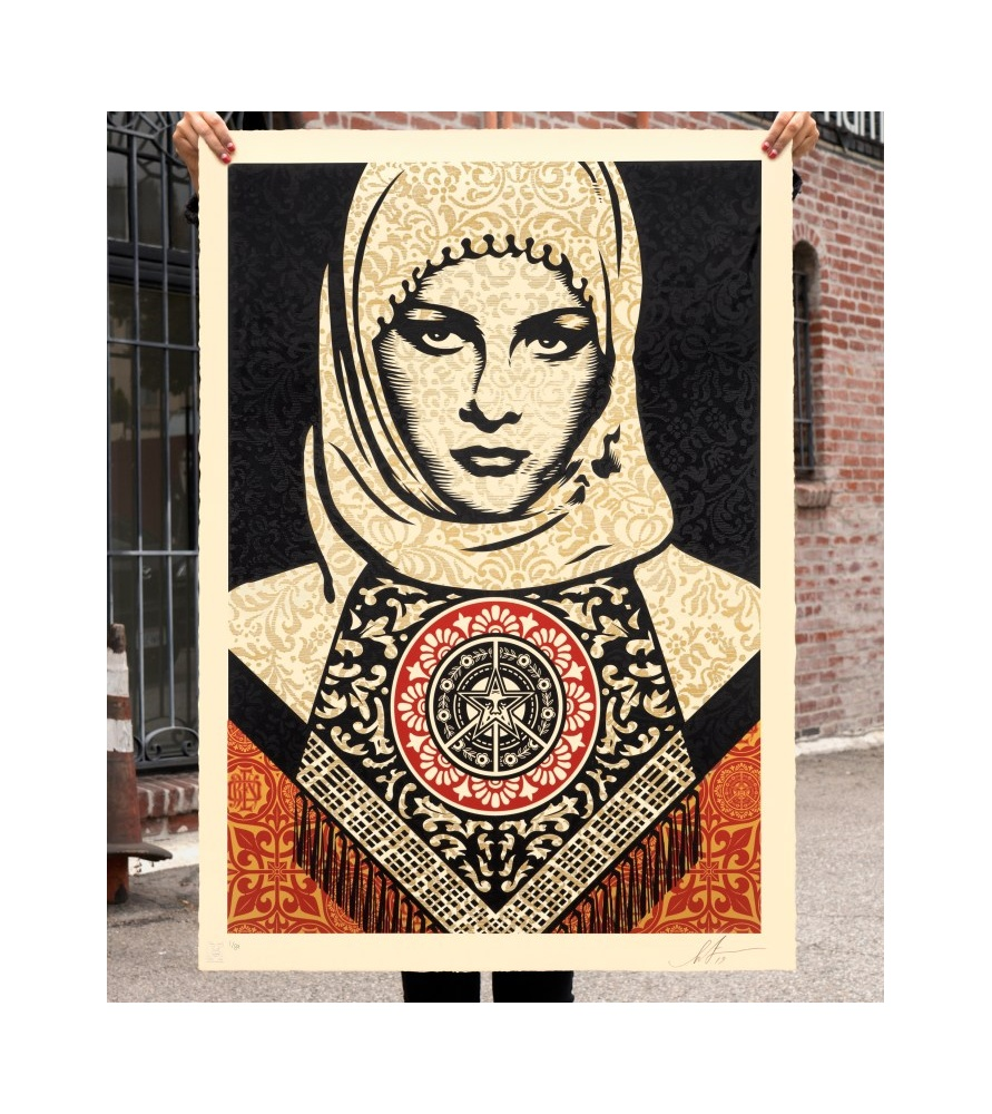 Litho.Online Shepard Fairey - Arab Women (grand format)