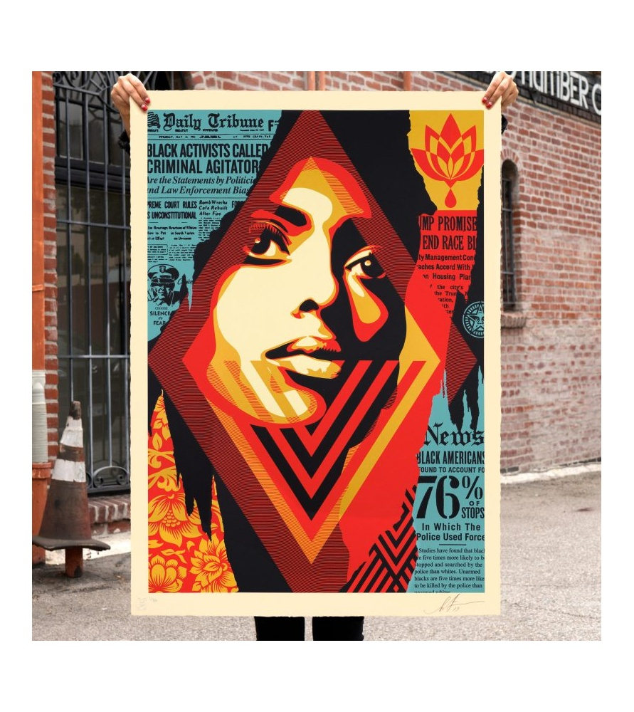 Litho.Online Shepard Fairey - Bias by numbers (grand format)
