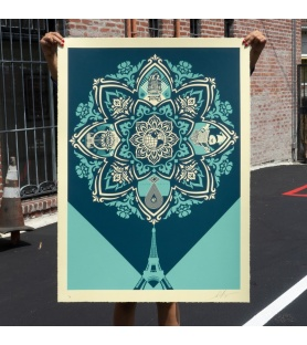 Litho.Online Shepard Fairey - A Delicate Balance (grand format)