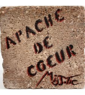 Litho.Online Miss Tic - Apache de Cœur