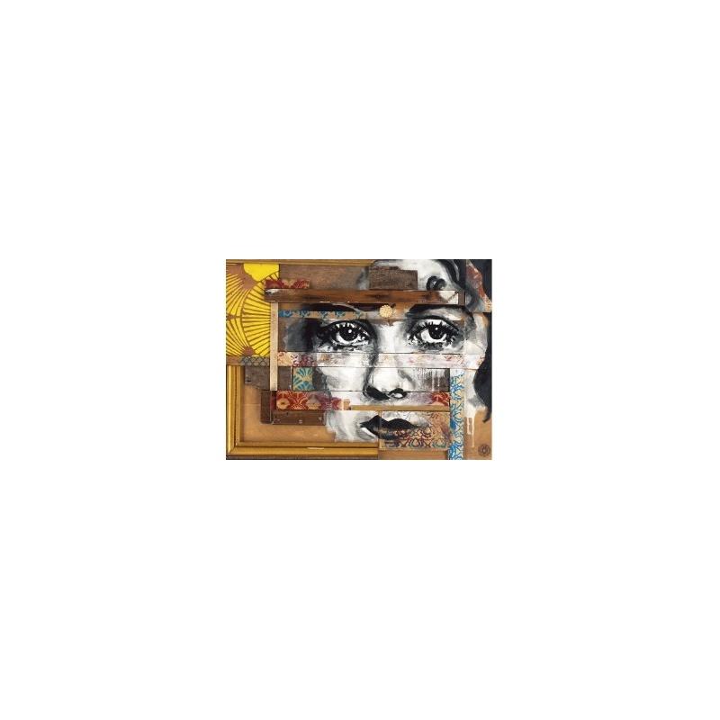 Evazésir - Instant figé  - Estampe signée numérotée 20ex- Museum 350g- 40x30cm 2018