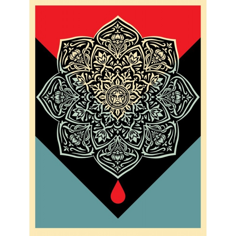 Litho.Online Shepard Fairey - Blood and Oil