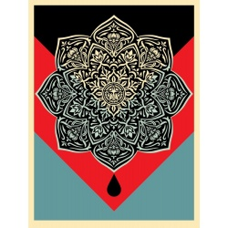 Litho.Online Shepard Fairey - Blood and Oil 2